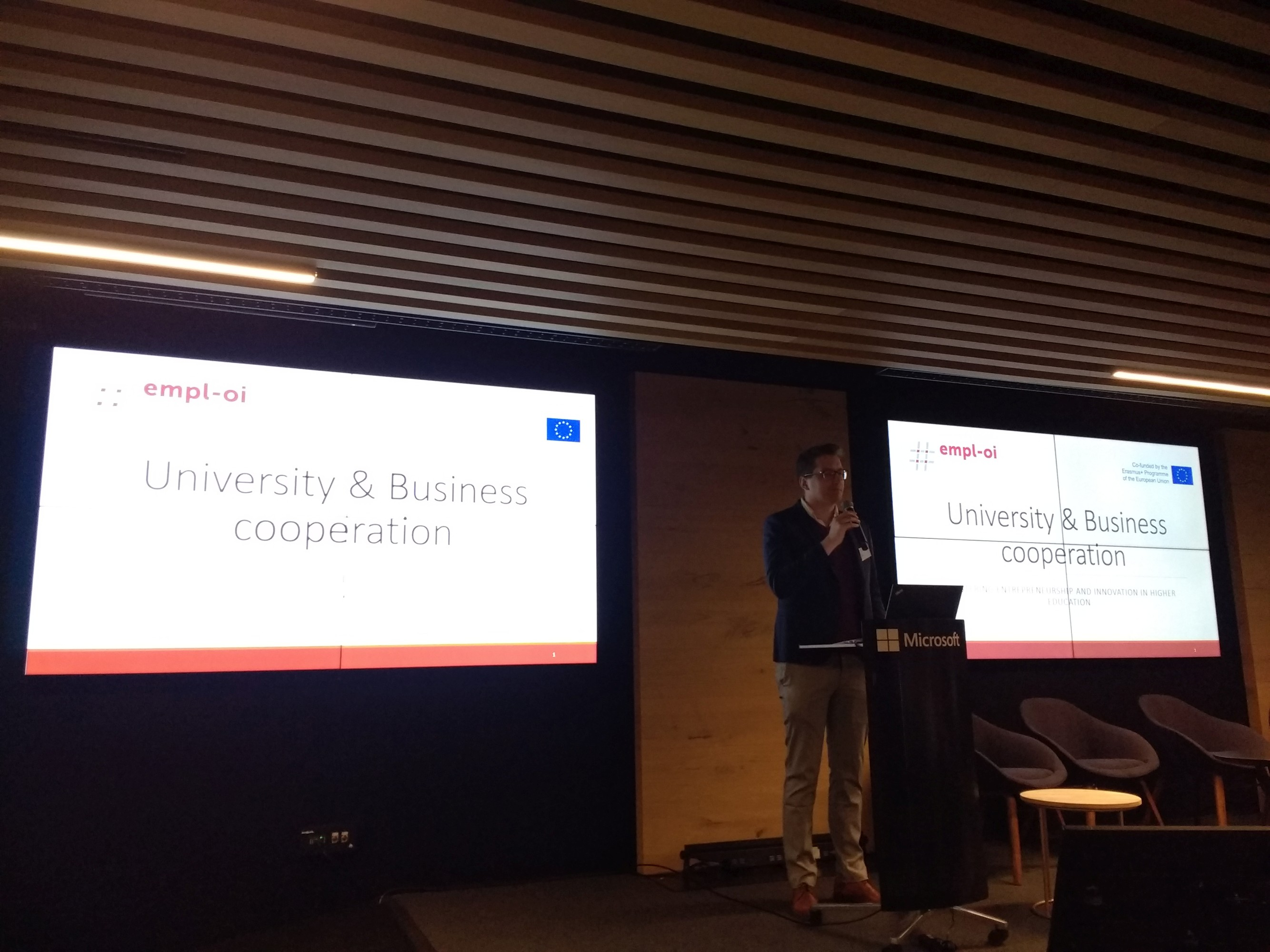 University and Business Cooperation (by YouthProAktiv)