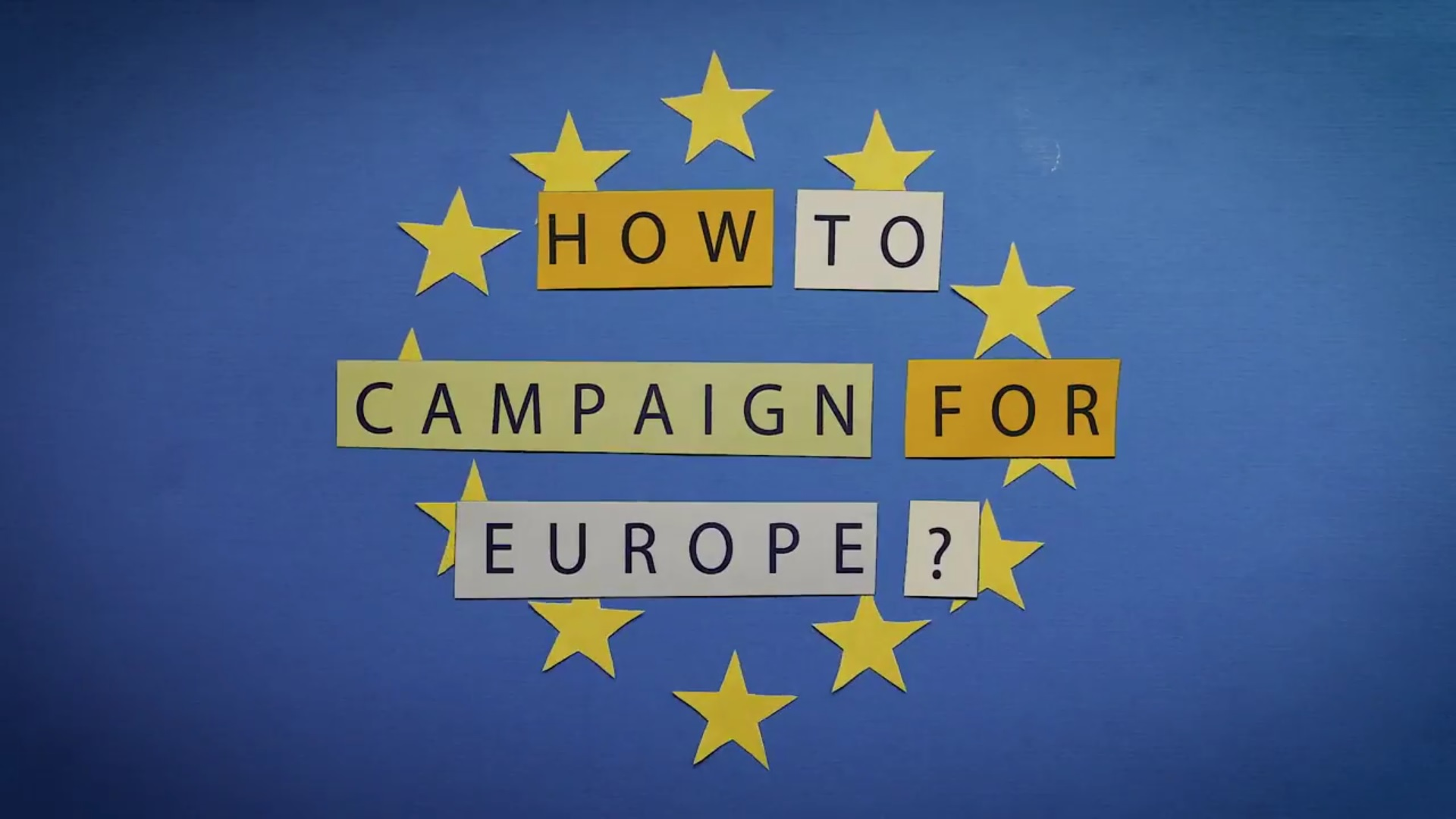 Campaigning for Europe (EuroPCom 2018)